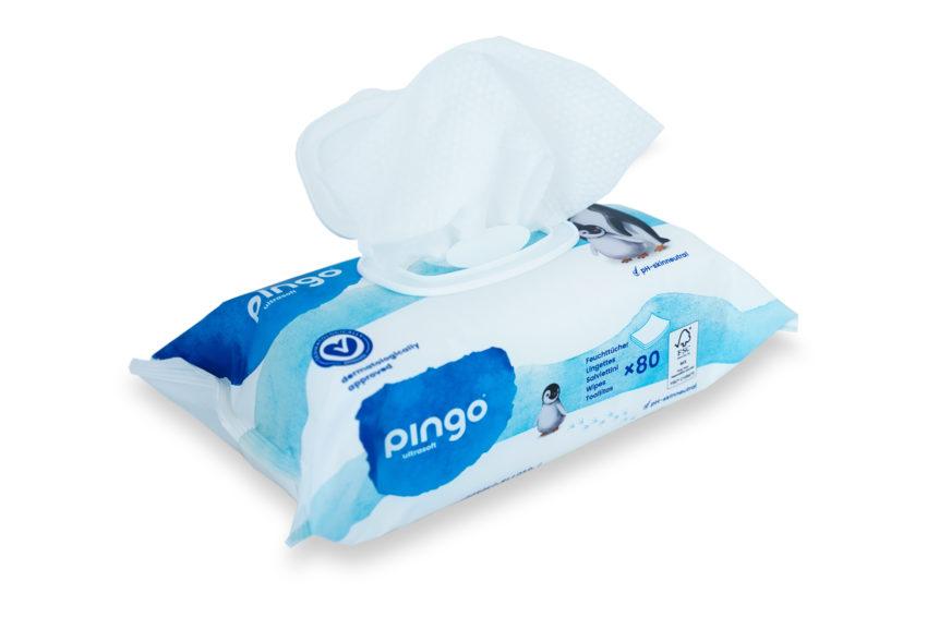 nuevas toallitas Pingo ecológicas